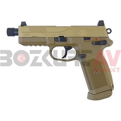 Cybergun FN Herstal FNX-45 Tactical Blowback Airsoft Havalý Tabanca