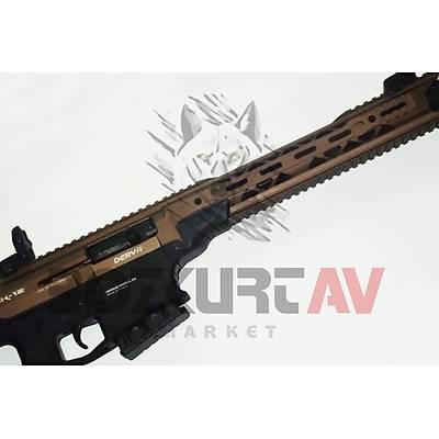Derya MK-12 AS-100S Full Metal Siyah/Bronz Otomatik Av Tüfeði