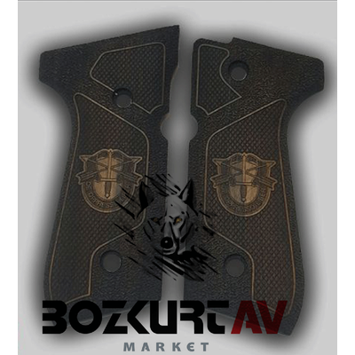 Beretta 92 FS 9 mm FS Özel Tasarým Tabanca Kabzasý