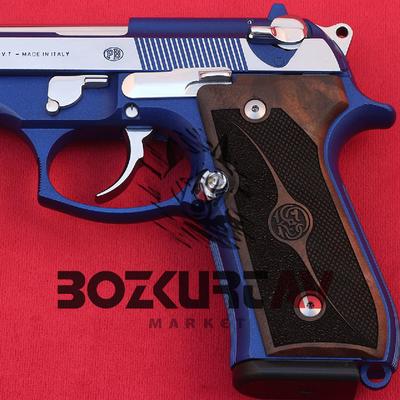 Beretta 92 FS 9 mm Ceviz Tabanca Kabzasý