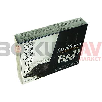 B&P Black Shock Slug 12 Kalibre Tek Kurþun