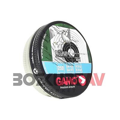 Gamo Round 4,5 mm Havalý Tüfek Saçmasý (8,18 Grain - 250 Adet)