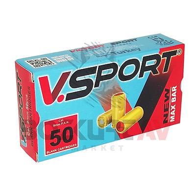 Victory Sport 9 mm Kurusýký Tabanca Mermisi