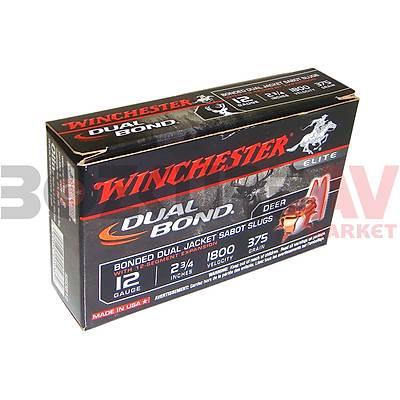 Winchester Dual Bond Sabot Slug 12 Kalibre Tek Kurþun