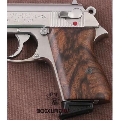 Walther PPK Kök Ceviz Tabanca Kabzasý