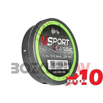 Victory Sport Classic 5,5 mm 10 Paket Havalý Tüfek Saçmasý