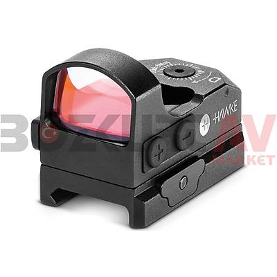 Hawke Micro Reflex Dot 3 Moa Weaver Hedef Noktalayýcý Red Dot Sight