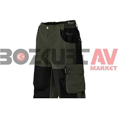 Pinewood 9685 Kilimanjaro Dark Green-Black Pantolon