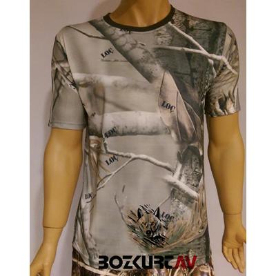 Loç Orman Kýsa Kollu T-Shirt
