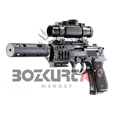 Beretta M 92 FS XX-Treme Tactical Havalı Tabanca