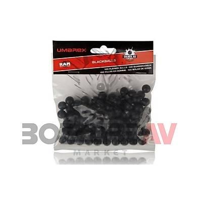 Umarex T4E 43 Kalibre Siyah Rubberballs