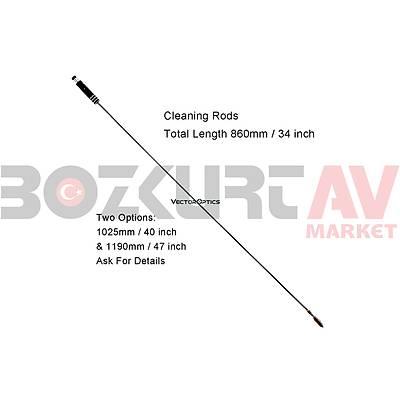 Vector Optics 12 Kalibre Tüfek Temizlik Seti (16 Parça)