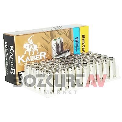 Kaiser Beyaz 9 mm 10 Paket Kurusýký Tabanca Mermisi