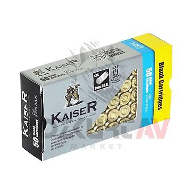Kaiser Gold 9 mm Kurusýký Tabanca Mermisi
