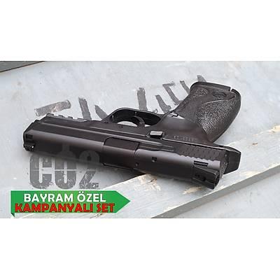 Kampanyalý KWC Smith & Wesson M40 Havalý Tabanca (ABS)