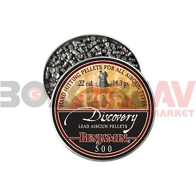 Benjamin Discovery 5,5 mm Havalý Tüfek Saçmasý (14,30 Grain - 500 Adet)