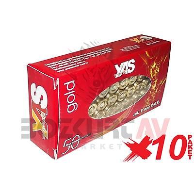 YAS Gold 9 mm 10 Paket Kurusýký Tabanca Mermisi