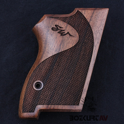 Smith & Wesson CS45 Ceviz Tabanca Kabzasý