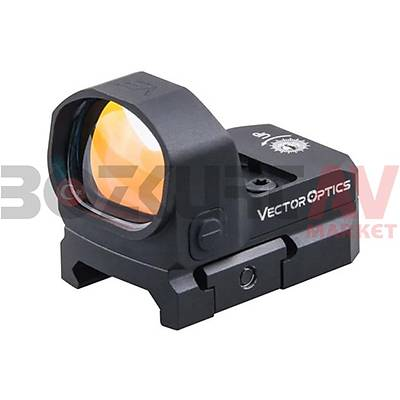 Vector Optics Frenzy 1x20x28 Weaver Hedef Noktalayýcý Red Dot Sight
