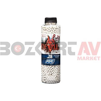 ASG Blaster Devil 0,28 Gram 3300'lü 6 mm Airsoft BB