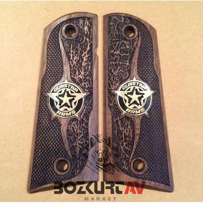 Colt 1911 Ortopedik -Tasarým Ceviz Tabanca Kabzasý