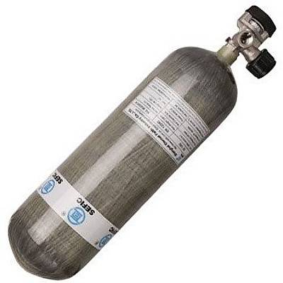 Sefic 6,8 Litre CFK 300 BAR Karbon Fiber Scuba Tüp