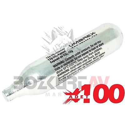 Umarex 12 Gram CO2 Havalý Tabanca Tüpü (100 Adet)