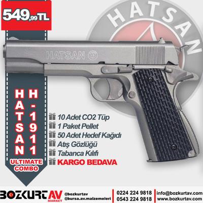 Hatsan H-1911 ULTIMATE COMBO Havalý Tabanca