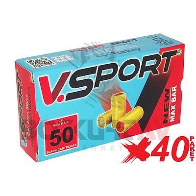 Victory Sport 9 mm 40 Paket Kurusýký Tabanca Mermisi