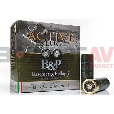 B&P Active Slug 12 Kalibre Tek Kurþun
