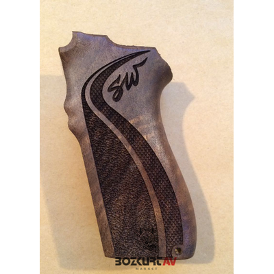 Smith & Wesson 5904-5906 SW Ýmzalý Ceviz Tabanca Kabzasý