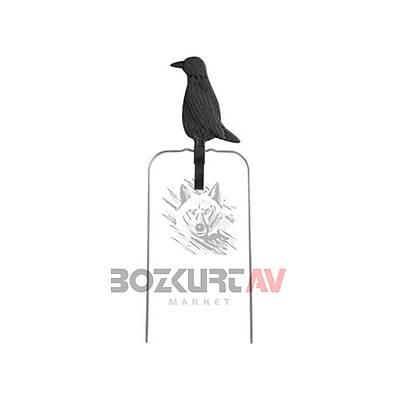 Champion Duraseal 18 cm Siyah Karga Dönen Hedef