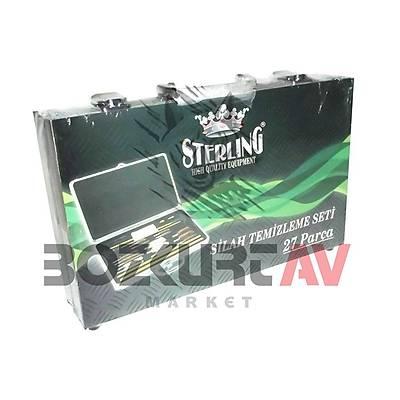 Sterling Alüminyum Çantalı 27 Parça Her Silaha Uygun Temizlik Seti