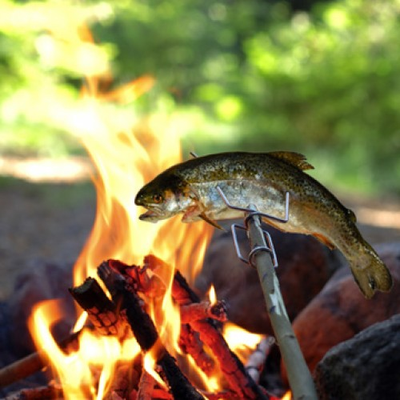 Grandpas's Fire Fork  Kamp Ateþi Çubuðu