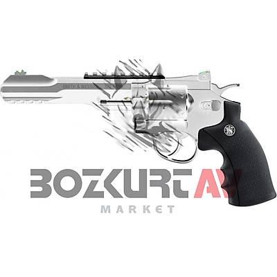 Smith & Wesson 327 TRR8 Nickel Havalı Tabanca