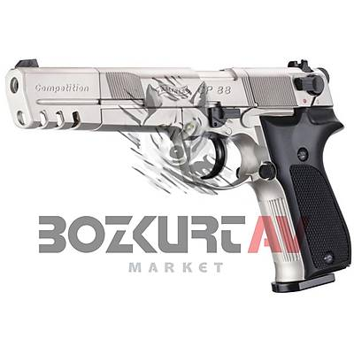Walther CP88 Competition Nickel Havalý Tabanca