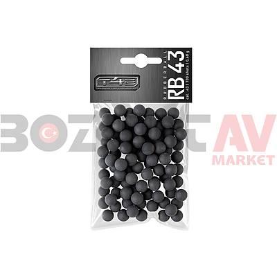 Umarex T4E RB 43 .43 Kalibre Siyah Rubberball (100 Adet)