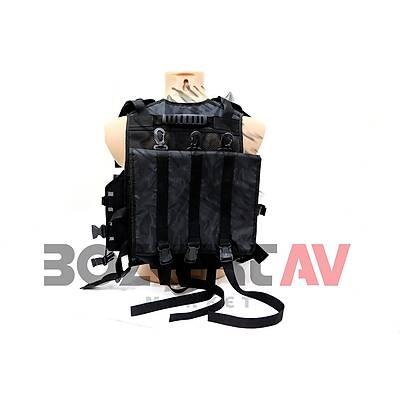 Bozkurt Av Black Tactical Yelek