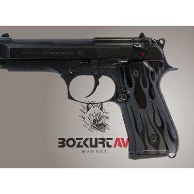 Hogue Beretta FS 92 Alev Desen Alüminyum Kabza