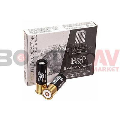 B&P White Blackout Slug 12 Kalibre Tek Kurþun