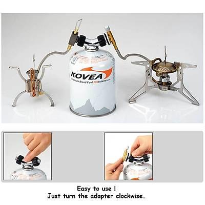 Kovea Gas P- Adaptör (Çift Çýkýþ)