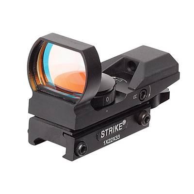 ASG Strike 1x22x33 Weaver Hedef Noktalayýcý Red-Dot Sight