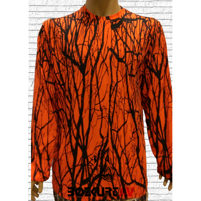 Spayko Turuncu Uzun Kollu T-Shirt