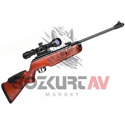 Gamo Hunter DX Combo 5,5 mm Havalý Tüfek