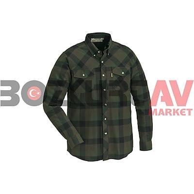 Pinewood 9525 Lumbo Green / Black Gömlek