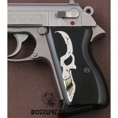 Walther PPK Siyah Tasarým Pleksi Tabanca Kabzasý