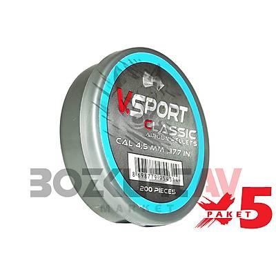 Victory Sport Classic 4,5 mm 5 Paket Havalý Tüfek Saçmasý