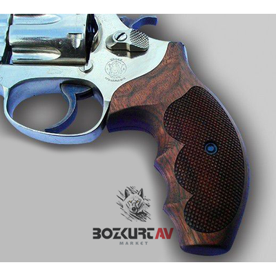 Smith & Wesson Lady Uzun Ceviz Tabanca Kabzasý