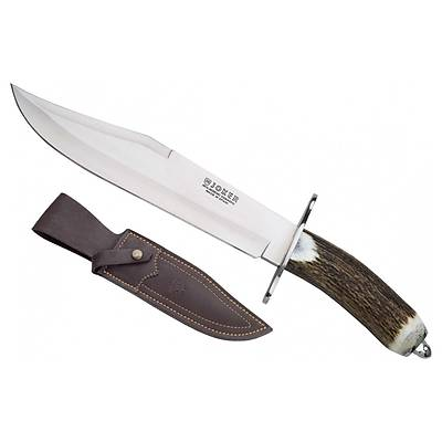 Joker Knives CC101 Geyik Boynuzu Saplý Büyük Bowie Býçak