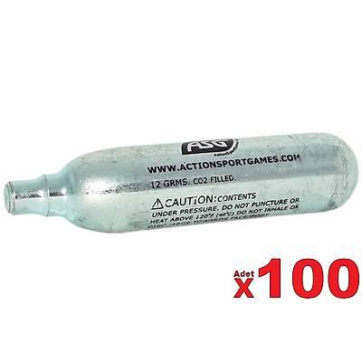 ASG 12 Gram CO2 Havalý Tabanca Tüpü (100 Adet)